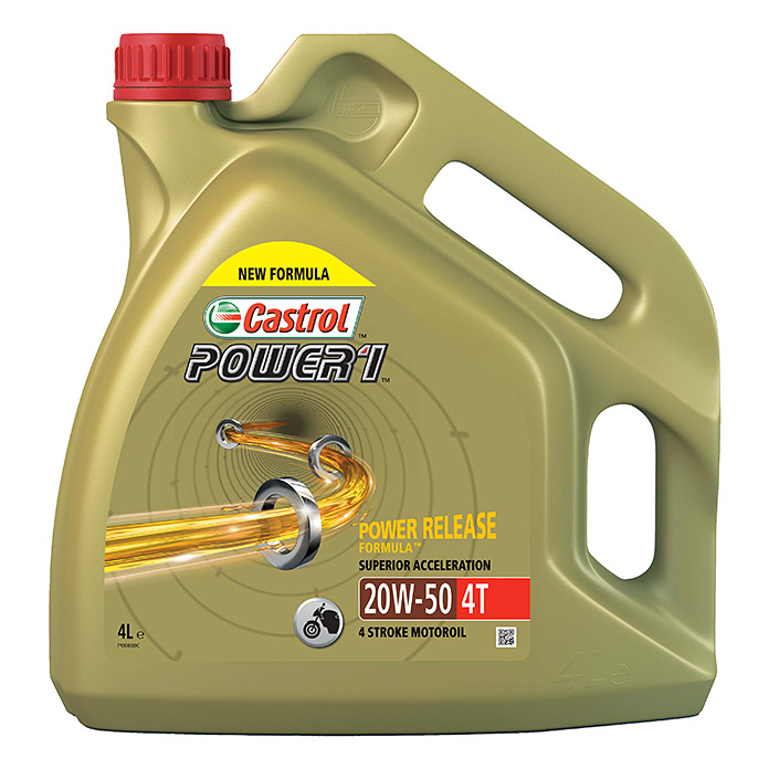 Castrol Power 1 Motoröl 4T (4 l)