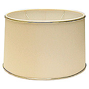 lampenschirm durchmesser 25 cm beige gold stoff oval bauhaus. Black Bedroom Furniture Sets. Home Design Ideas