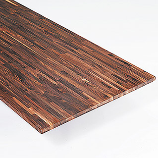 Exclusivholz Massivholzplatte (Walnuss, 260 cm x 80 cm x 2,6 cm )