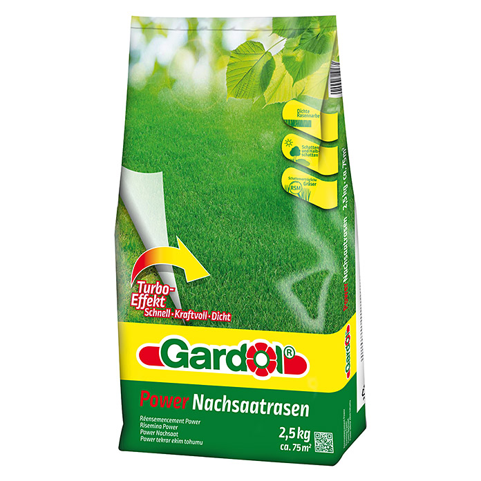 GD POWER NACHSAAT-  RASEN 2,5 kg        GARDOL