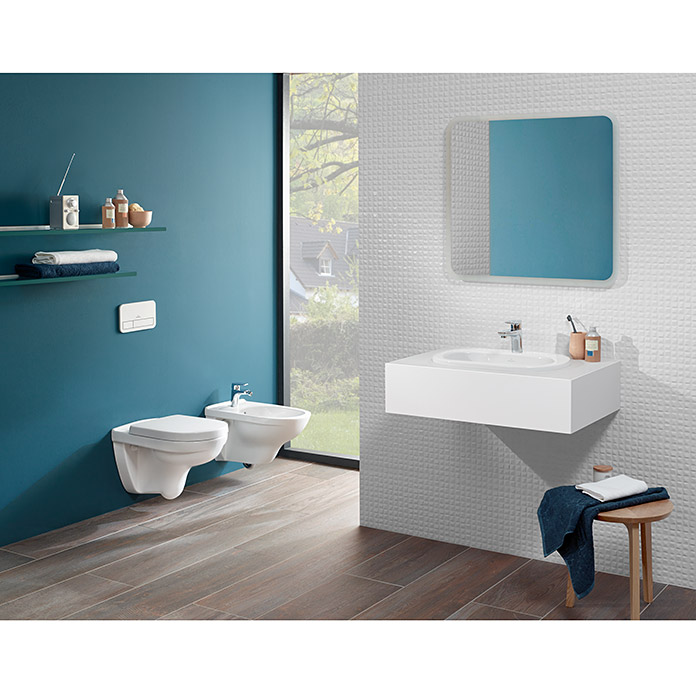 villeroy boch sp lrandloses wand wc targa style directflush mit wc sitz tiefsp ler wei. Black Bedroom Furniture Sets. Home Design Ideas