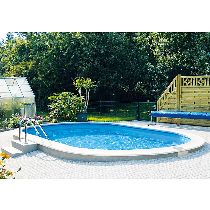 Pool komplettset premium 700 x 300 x 120 cm 22 m blau for Pool reparaturset folie