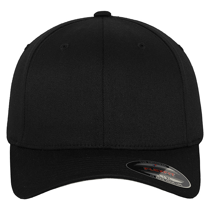 FLEXFIT   BASECAP   BLACK     L/XL