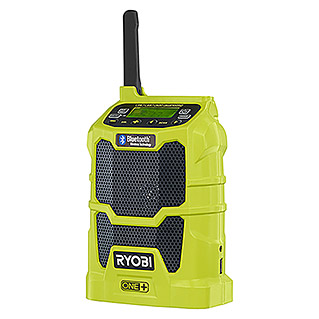 Ryobi ONE+ Akku-Bluetooth-Radio R18R-0  (Frequenz: 87,5 - 108,0 kHz (FM))