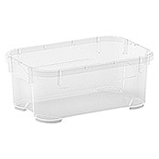 Regalux Clear Box Mini (L x B x H: 17,5 x 11,5 x 7 cm, 1 l, Transparent)