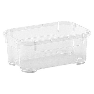 Regalux Clear Box Mini (l x b x h: 17,5 x 11,5 x 7 cm, 1 l, Transparant)