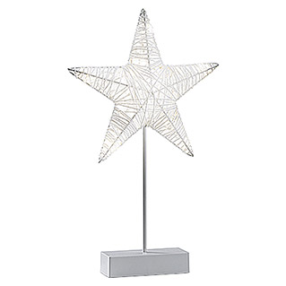 Tween Light Estrella LED (Para interior, 10 luces, Altura: 43 cm, Blanco)