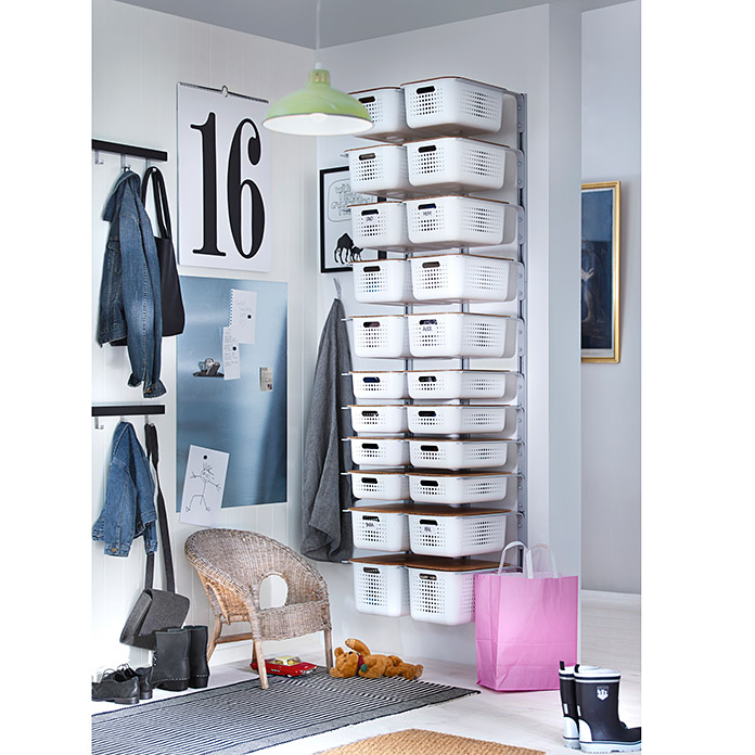 SMART STORE BASKET  10, WEISS