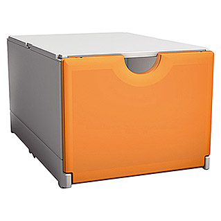 Surplus Systems Aufbewahrungsbox Plus Box (Weiß/Orange)