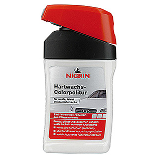 Nigrin Hartwachs-Colorpolitur (Weiß, 300 ml)