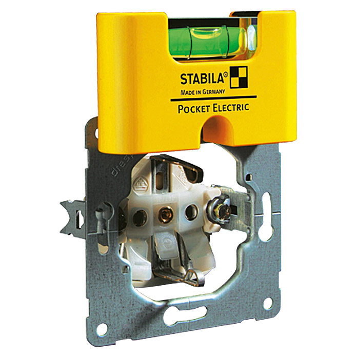 Stabila Wasserwaage Pocket Electric (Horizontal-Libelle)