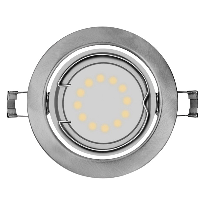 Osram Led-Einbauleuchten-Set (3 X 3 W, Nickel Matt, Metall