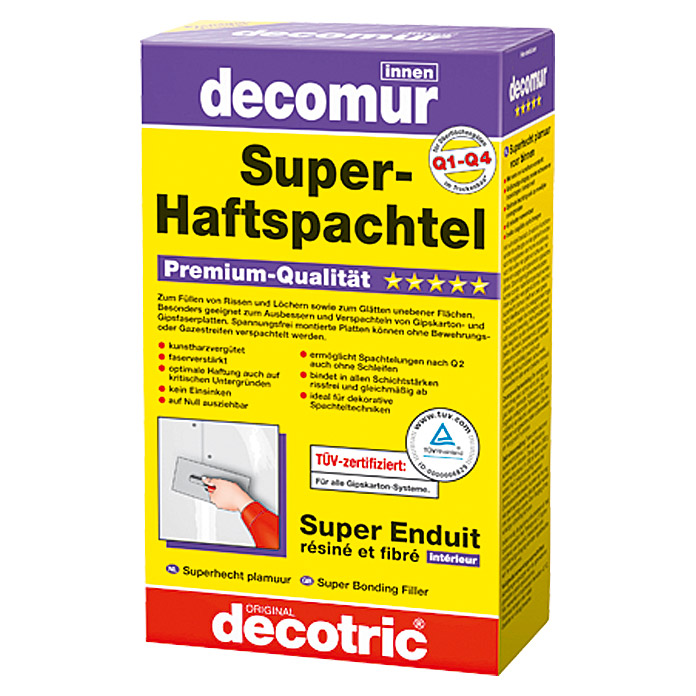 Decotric Super-Haftspachtel decomur (1 kg)