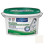 SILICON-FASSADEN-   FARBE 2,5 l WEISS   SWINGCOLOR
