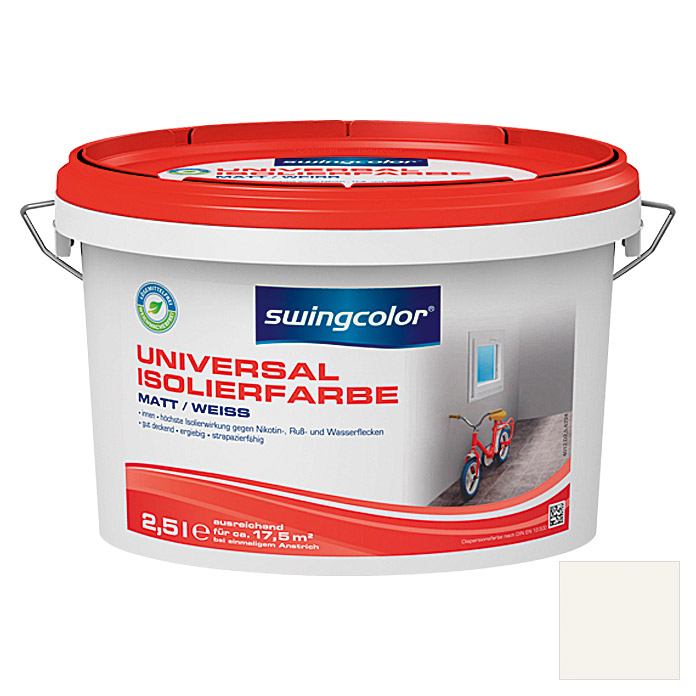 swingcolor Universal-Isolierfarbe  (Weiß, 2,5 l)