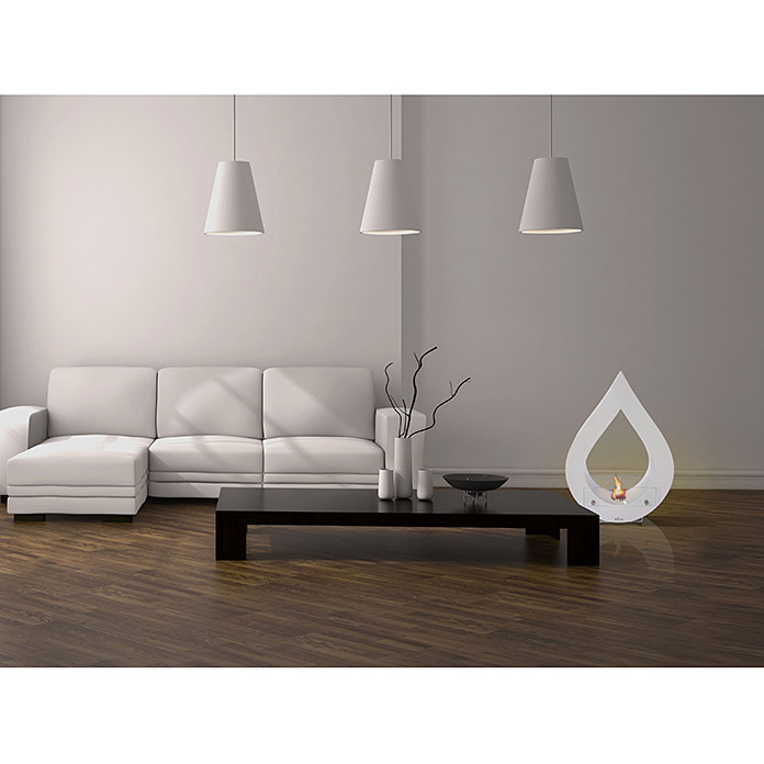 purline bioethanol kamin 60 x 25 x 80 cm wei 4124 null dced null dce null dc. Black Bedroom Furniture Sets. Home Design Ideas