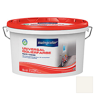 swingcolor Universal-Isolierfarbe (Weiß, 5 l, Matt)