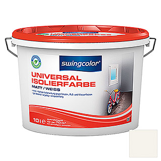 swingcolor Universal-Isolierfarbe (Weiß, 10 l, Matt)