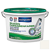 SILICON-FASSADEN-   FARBE 10 l WEISS    SWINGCOLOR