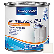 WEISSLACK 2 IN 1 WB 375 ml SEIDENMATT   SWINGCOLOR