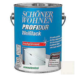 Schöner Wohnen ProfiDur Weißlack   (2,5 l)