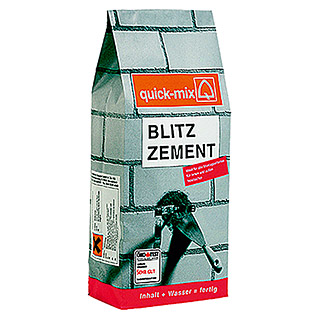 Quick-Mix Blitzzement (10 kg, Chromatarm)