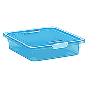 KIS KREO BOX S      BLAU-TRANSPARENT