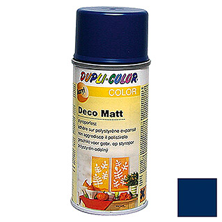 Dupli-Color Color Acryl-Lackspray Deco Matt RAL 5003 (Saphirblau, 150 ml, Matt)