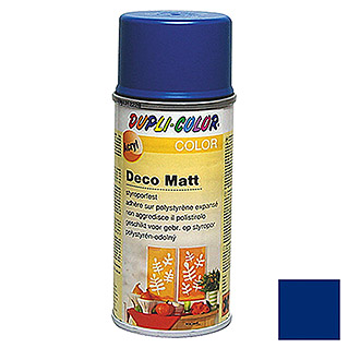 Dupli-Color COLOR Deco Matt Acryllackspray RAL 5010 (Enzianblau, 150 ml, Matt)