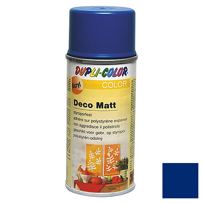 DECO MATT RAL 5010  ENZIANBLAU 150 ml   DUPLICOLOR