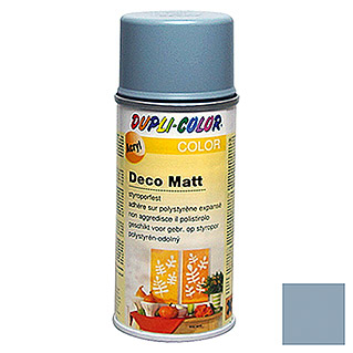 Dupli-Color Color Acryl-Lackspray Deco Matt RAL 7001 (Silbergrau, 150 ml, Matt)