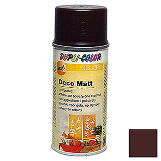 Dupli-Color Color Acryl-Lackspray Deco Matt RAL 8017 (Schokobraun, 150 ml, Matt)