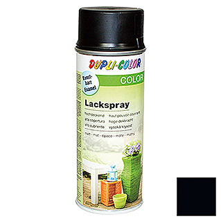 Dupli-Color COLOR Lackspray RAL 9005 (Tiefschwarz, Matt, 400 ml)