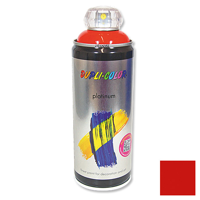 Dupli-Color Buntlack-Spray platinum RAL 3020 (Verkehrsrot, 400 ml)