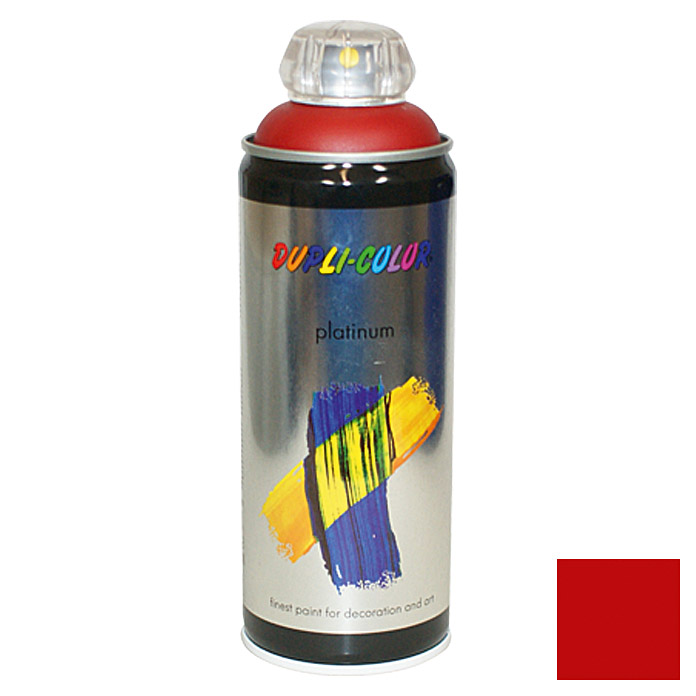 Dupli-Color Buntlack-Spray platinum RAL 3003 (Rubinrot, 400 ml)