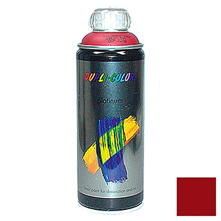 Dupli-Color Buntlack-Spray platinum RAL 3004 (Purpurrot, 400 ml, Seidenmatt)