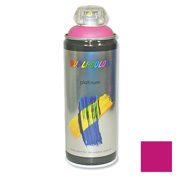 Dupli-Color Buntlack-Spray platinum RAL 4010 (Telemagenta, 400 ml)