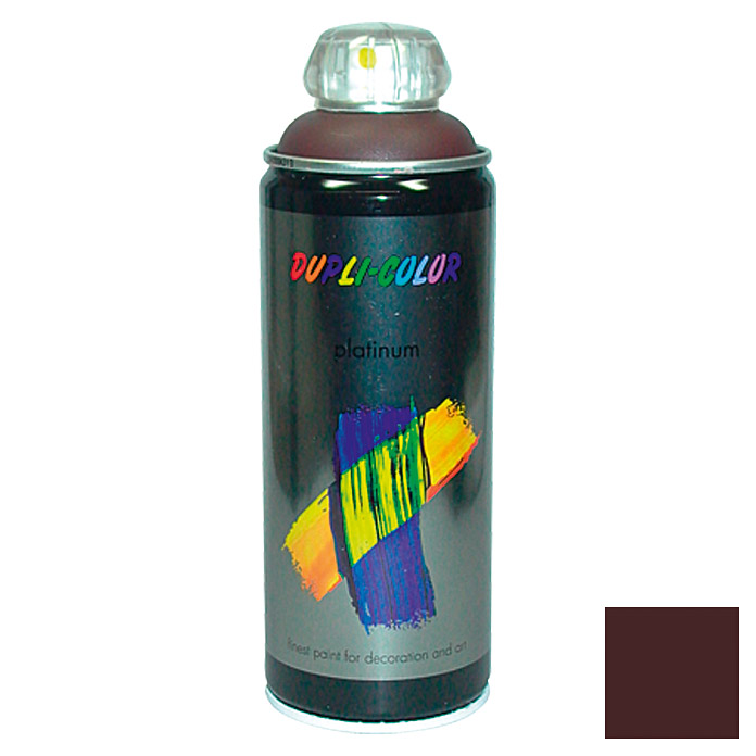 Dupli-Color Buntlack-Spray platinum RAL 8017 (Schokobraun, 400 ml)