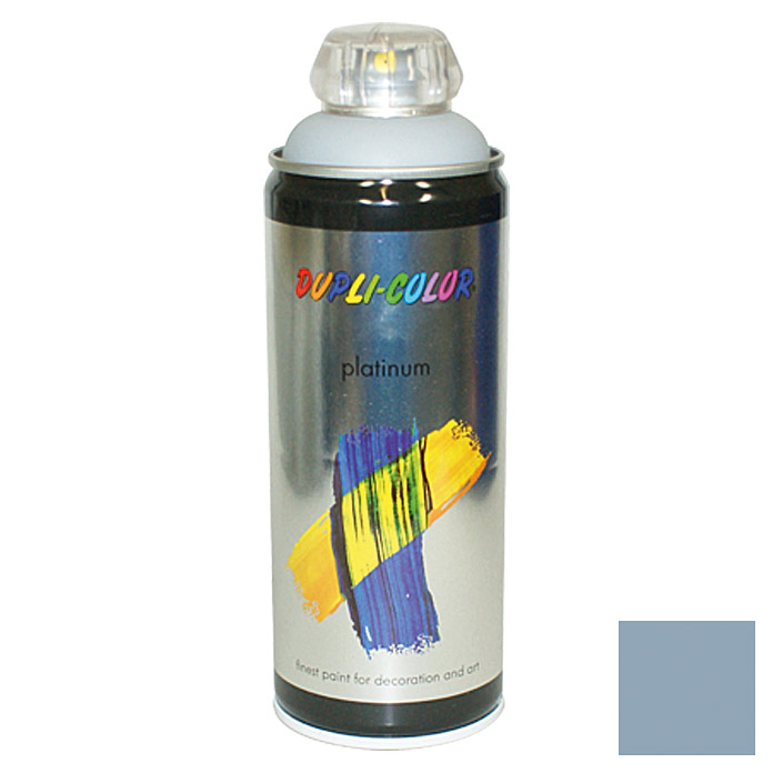 Dupli-Color Buntlack-Spray platinum RAL 7001 (Silbergrau, 400 ml)