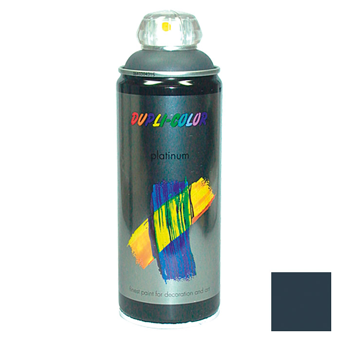 Dupli-Color Buntlack-Spray platinum RAL 7016 (Anthrazitgrau, 400 ml)
