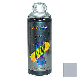 Dupli-Color Buntlack-Spray platinum RAL 9006 (Silber, 400 ml, Seidenmatt)