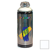 Dupli-Color Buntlack-Spray platinum RAL 9010 (Reinweiß, 400 ml, Seidenmatt)