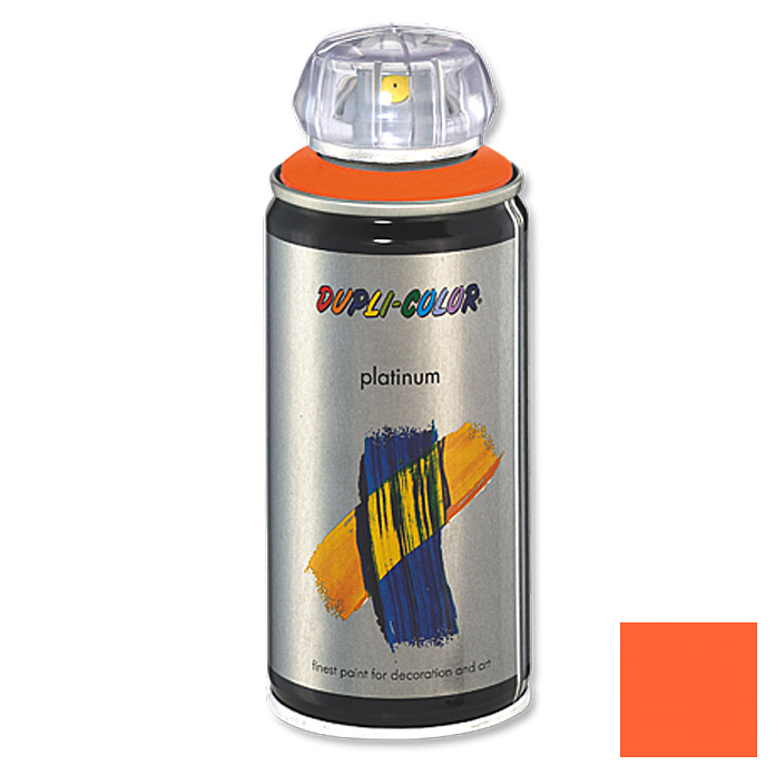 Dupli-Color Buntlack-Spray platinum RAL 2003 (Pastellorange, 150 ml)