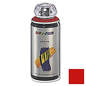 Dupli-Color Buntlack-Spray platinum RAL 3020 (Verkehrsrot, 150 ml, Seidenmatt)