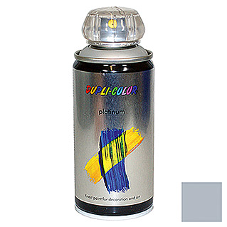 Dupli-Color Buntlack-Spray platinum RAL 9006 (Aluminium, 150 ml, Seidenmatt)