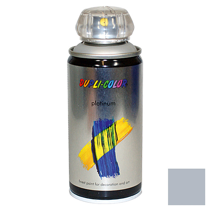 Dupli-Color Buntlack-Spray platinum RAL 9006 (Aluminium, 150 ml)