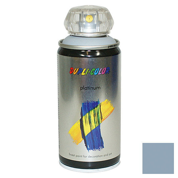 Dupli-Color Buntlack-Spray platinum RAL 7001 (Silbergrau, 150 ml, Seidenmatt)