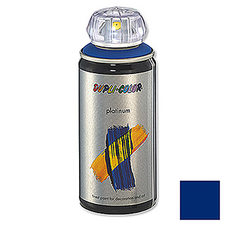 Dupli-Color Buntlack-Spray platinum RAL 5010 (Enzianblau, 150 ml, Seidenmatt)