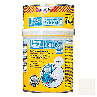 FLIESENLACK PERFECT 750 ml WEISS        MOLTO