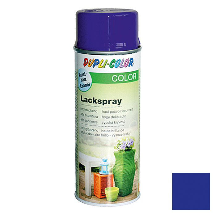 Dupli-Color Color Lackspray RAL 5002 (Ultramarinblau, Glänzend, 400 ml)